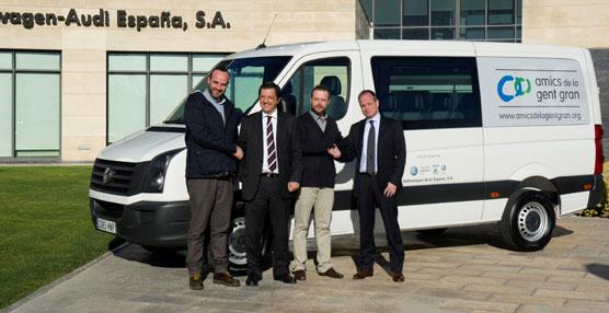 Volkswagen-Audi España ha donado un Crafter a la Fundació Amics de la Gent Gran