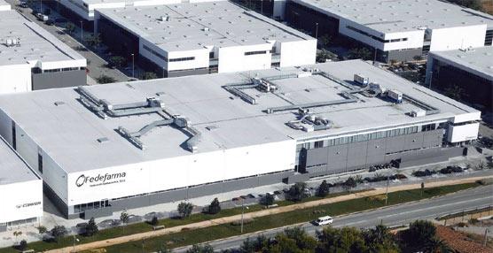 Uno de los siete centros de distribución de Fedefarma.