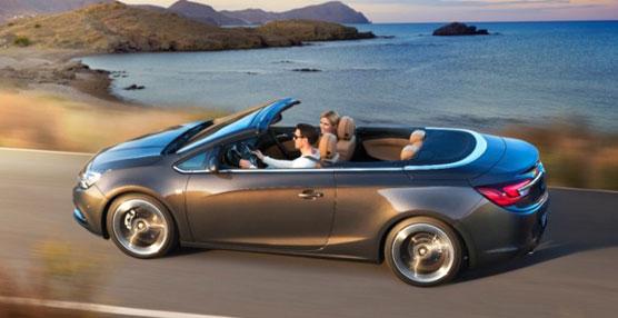 El descapotable de tamaño medio Opel Cabrio.