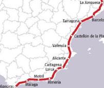 Fomento impulsa el desarrollo del Corredor Mediterráneo invirtiendo más de 236 millones de euros