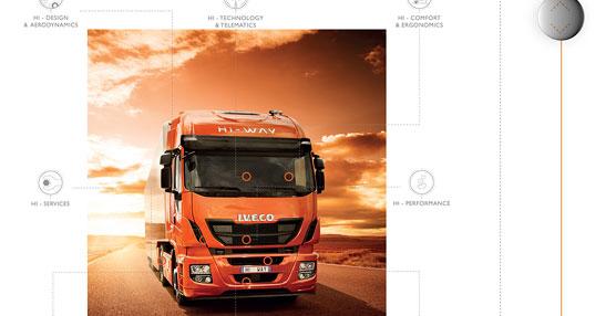 Iveco ha lanzado nuevas aplicaciones del Stralis Hi-Way y el nuevo Trakker para el Ipad