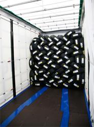 Krone ofrece dos sistemas para el transporte seguro y eficiente de neumáticos