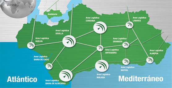 205 empresas y operadores del transporte de mercancías y casi 2.700 trabajadores conforman la Red Logística de Andalucía