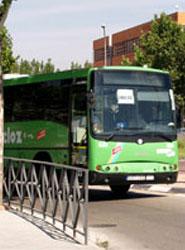 El transporte urbano por autobús disminuye un 7,9% en tasa anual.