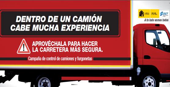 La DGT pone en marcha una campaña de sensibilización y vigilancia de camiones y furgonetas en carretera