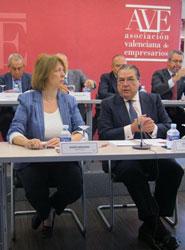 La AVE y el Círculo de Economía se reunirán este miércoles.