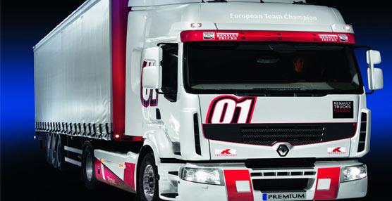 La versión 2013 del Premium Truck Racing de Renault Trucks.