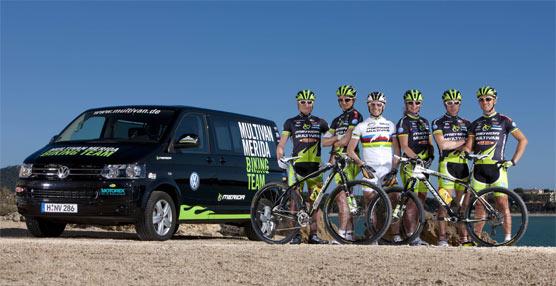 Volkswagen Vehículos Comerciales continuará encargándose del desplazamiento del equipo MERIDA de mountain bike