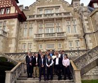 El Palacio de la Magdalena ha acogido una de las reuniones del grupo logístico alemán DB Schenker