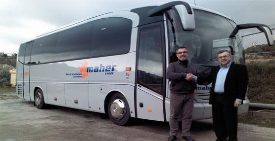 La empresa catalana Maher Canet, S.L. adquiere un autocar Tourino de Mercedes-Benz para su flota