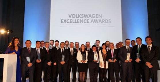 Volkswagen otorga por primera vez sus premios a la excelencia de la Red de Concesionarios