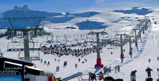 Estación de esquí de Sierra Nevada, uno de los destinos preferidos de los usuarios de Movelia.