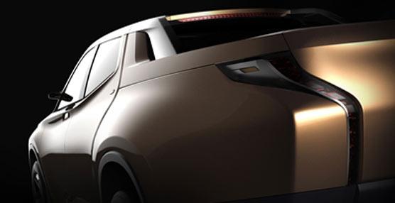 Mitsubishi presentará su nuevo pick-up híbrido en el Salón del Automóvil de Ginebra 2013