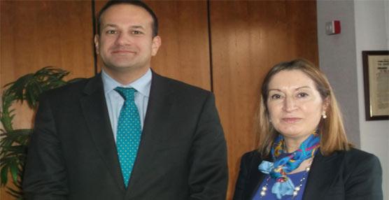 Ana Pastor se reúne con su homólogo irlandés y muestra el interés de España  por la Red Transeuropea de Transportes