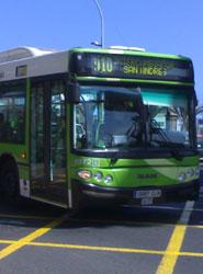 TITSA mejora el recorrido de la línea 462 entre Guía de Isora, Santiago del Teide y Los Gigantes para mejorar el servicio