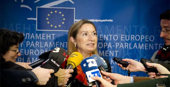 Ana Pastor defiende en Bruselas la inlcusión en la Red Transeuropea de Transporte de proyectos prioritarios para España