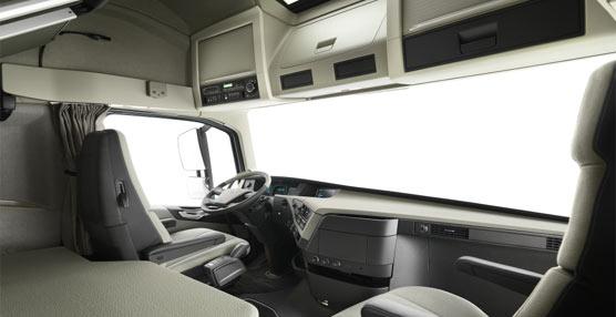Volvo Trucks mejora la calidad del aire de la cabina del nuevo Volvo FH 'mediante elementos con menos sustancias químicas'