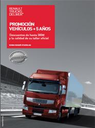Renault Trucks lanza una nueva campaña dirigida al mantenimiento de vehículos de más de cinco años