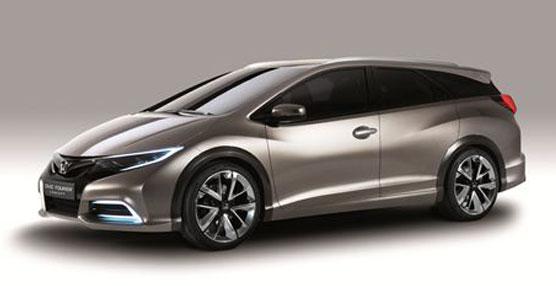 Honda presenta en Ginebra un anticipo del Civic familiar, con un toque más deportivo y asrodinámico