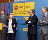 La ministra de Fomento preside el acto de toma de posesión de Manuel Niño como secretario general de Infraestructuras