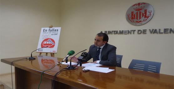 EMT Valencia presenta su dispositivo especial para Fallas 2013  con 3,3 millones de plazas ofertadas