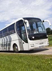 El transporte interurbano baja un 1,2% en tasa anual.
