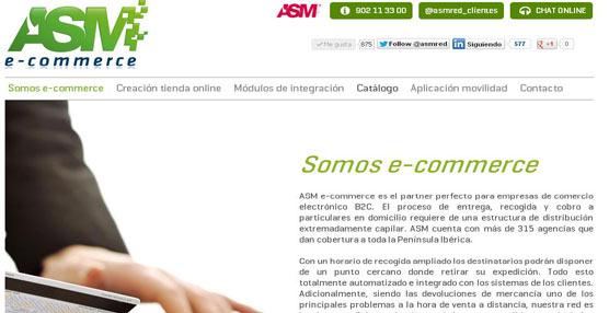 El operador de transporte urgente y logística ASM presenta sus novedades en la feria e-Show de Barcelona
