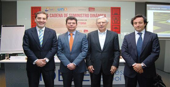 UNO y el Centro Español de Logística celebran un encuentro con el experto en cadena de suministro, John Gattorna
