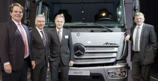 Mercedes-Benz completa su gama Euro 6 con la presentación mundial del nuevo Atego para la distribución