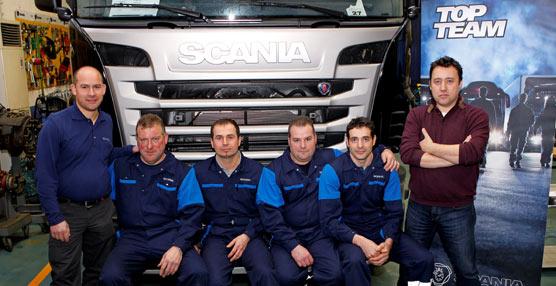 Scania organiza la competición TopTeam como apuesta por la formación de los técnicos de su red de servicio