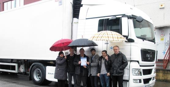 Tres empresas de transportes entran en el programa Ecostars de gestión sostenible de flotas