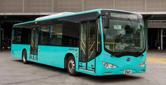 TMB dispondrá durante dos años de un autobús eléctrico de última generación fabricado en China