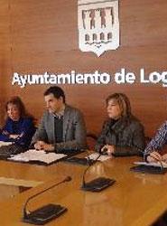 El Ayuntamiento de Logroño acometerá un centenar de actuaciones de mejora de la seguridad vial