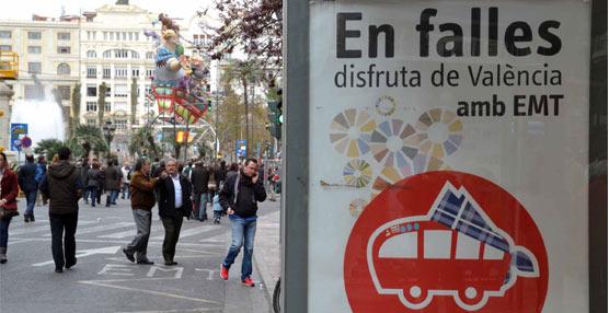 La EMT valenciana hace balance de los servicios prestados durante las festividades falleras