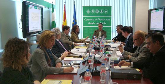 El Consorcio de Transportes Bahía de Cádiz presenta las cifras obtenidas en 2012, cuando superó los 5 millones de viajes