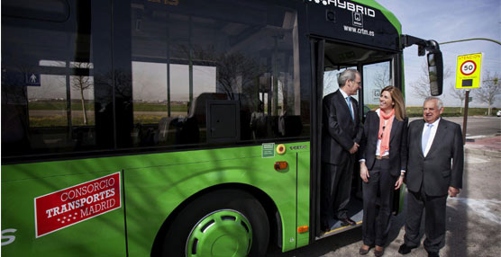 Un híbrido de Volvo será el primer autobús que utilice esta tecnología en la flota urbana de Móstoles