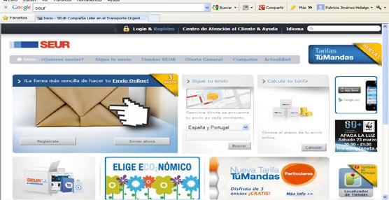 Los clientes podrán utilizar el nuevo servicio SEUR Telegrama a través de la página web de la compañía.