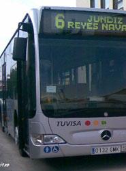 Bus de Tuvisa.