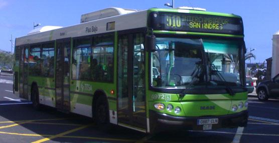 Autobús de Titsa.