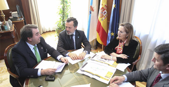 Fomento anuncia mejoras en la obra del tramo As Lonzas- A Zapateira de la autovía AC-14 en A Coruña