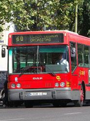 El Consorcio de Transportes de Cádiz instala cuatro vitrinas de información en las paradas interurbanas de Río San Pedro
