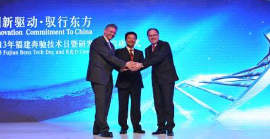 Daimler abre un nuevo centro de desarollo en China, a través de su joint venture Fujian Benz Automotive Corporation