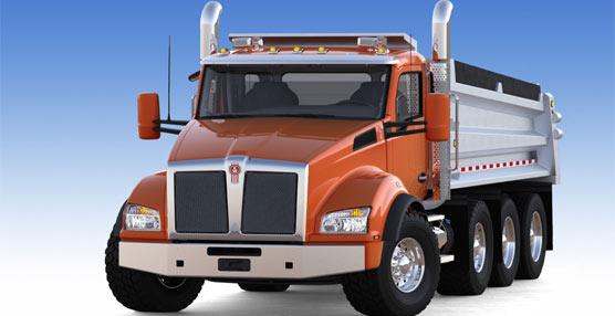 La marca de PACCAR, Kenworth, lanzará el próximo verano su nuevo vehículo Kenworth T880