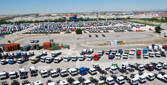 Caen las matriculaciones de los vehículos industriales un 27% en el mes de Marzo con respecto al año anterior