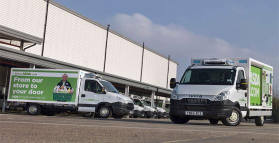La cadena de supermercados británica Asda adquiere 250 unidades del modelo Iveco Daily para el reparto a domicilio