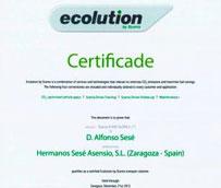 Grupo Sesé obtiene una certificación de Scania por sus prácticas en materia de sostenibilidad