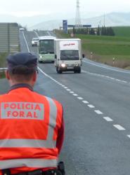 El Gobierno de la Comunidad Foral de Navarra aprueba el Plan de inspección de transportes  para  2013