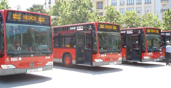 EMT Valencia cifra en un 22% el aumento de viajeros en Semana Santa respecto al año pasado