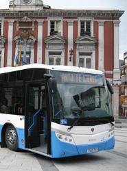 La Empresa Municipal de Transportes de Mieres peligra por su delicadísima situación económica