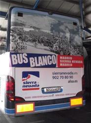 Alsa y Cetursa Sierra Nevada prolongan su 'bus blanco' hasta el final de la temporada de esquí